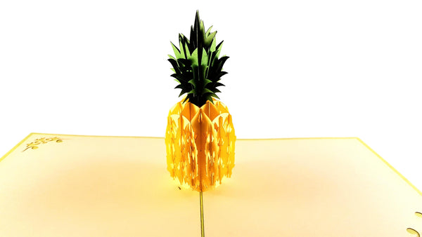 Pineapple 3D Pop Up Greeting Card 2