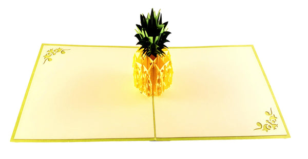 Pineapple 3D Pop Up Greeting Card 3