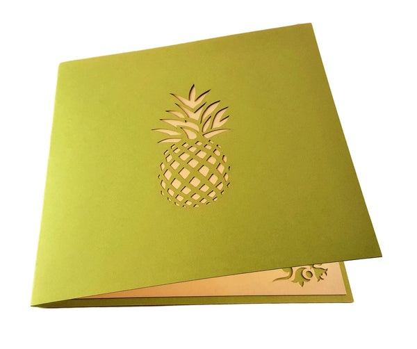 Pineapple 3D Pop Up Greeting Card 4