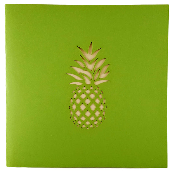 Pineapple 3D Pop Up Greeting Card 5