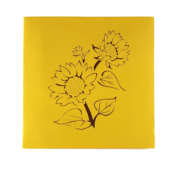 Sunflowers 3D Pop Up Greeting Card 7
