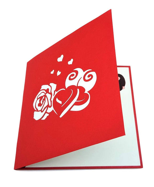 Full of Love Happy Valentine's Day 3D Pop Up Greeting Card 6