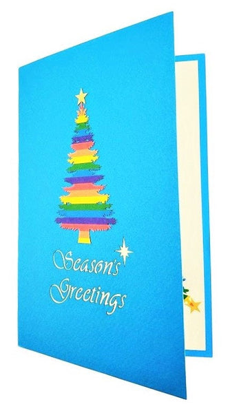 Gay Christmas 3D Pop Up Greeting Card 8