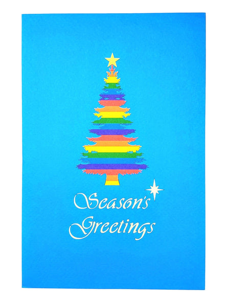 Gay Christmas 3D Pop Up Greeting Card 9
