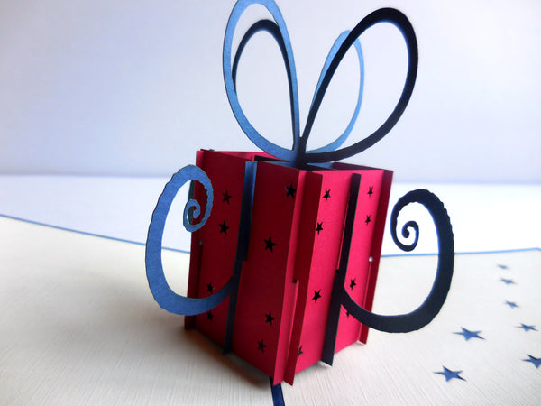 Gift 3D Pop Up Greeting Card 2
