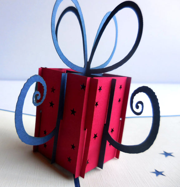 Gift 3D Pop Up Greeting Card 1