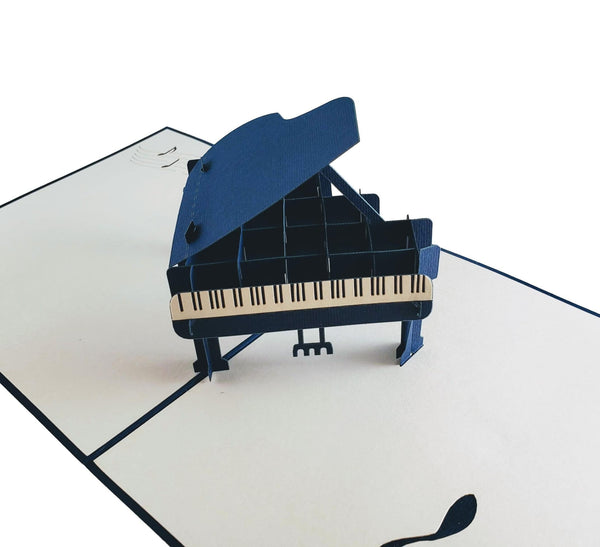 Grand Piano 3D Pop up Greeting Card 5
