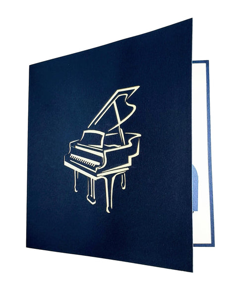 Grand Piano 3D Pop up Greeting Card 6