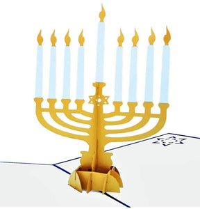 Hanukkah 3D Pop Up Greeting Card 1