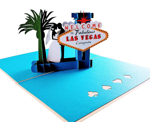 Happily Ever After Las Vegas 3D Pop Up Greeting Card 6