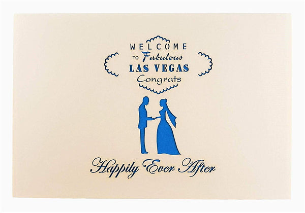 Happily Ever After Las Vegas 3D Pop Up Greeting Card 8