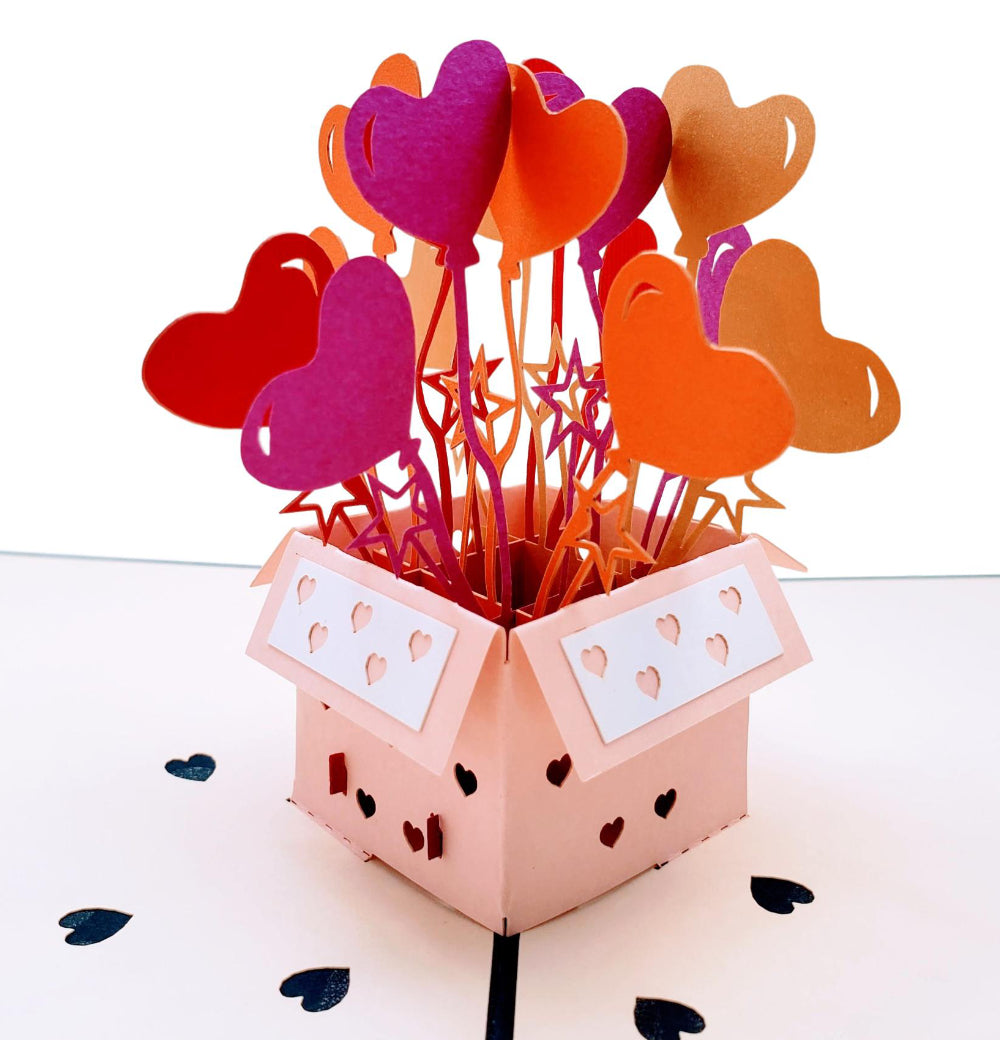 Happy Anniversary to My Husband 3D Pop Up Greeting Card 1