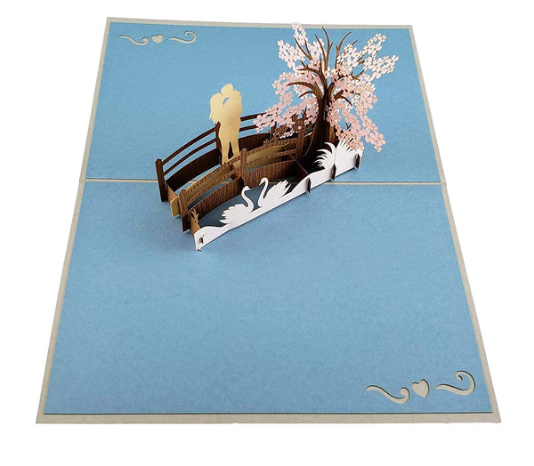 Happy 10th Anniversary 3D Pop Up Greeting Card 5