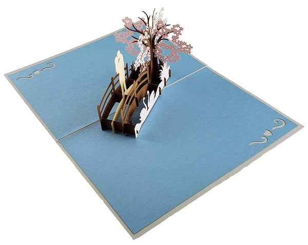 Happy 10th Anniversary 3D Pop Up Greeting Card 7