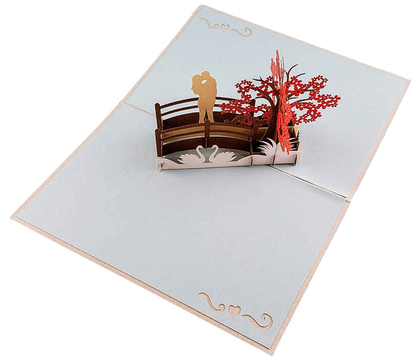 Happy 20th Anniversary 3D Pop Up Greeting Card 2