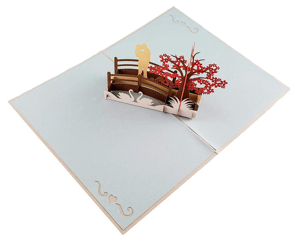 Happy 20th Anniversary 3D Pop Up Greeting Card 5