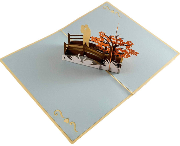 Happy 30th Anniversary 3D Pop Up Greeting Card 2