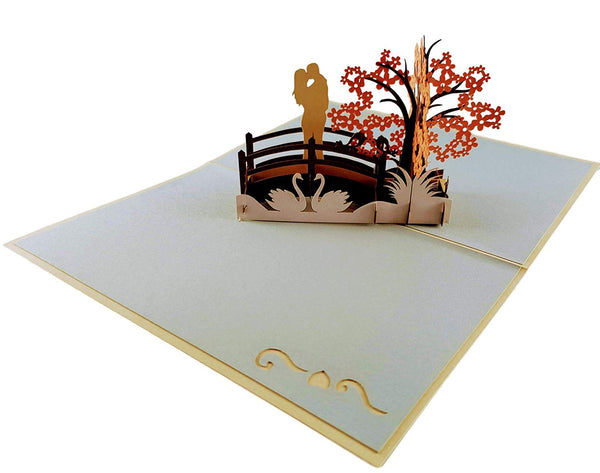 Happy 30th Anniversary 3D Pop Up Greeting Card 4