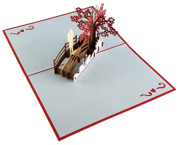 Happy 40th Anniversary 3D Pop Up Greeting Card 4