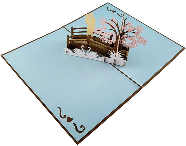 Happy 5th Anniversary 3D Pop Up Greeting Card 5