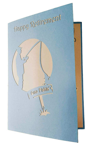 Happy Retirement 3D Pop Up Greeting Card 8