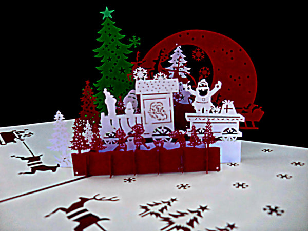 Holy Night Party 3D Pop Up Greeting Card 2