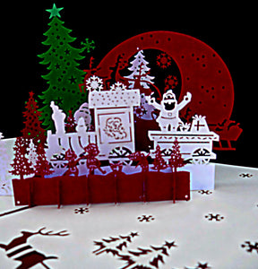 Holy Night Party 3D Pop Up Greeting Card 1