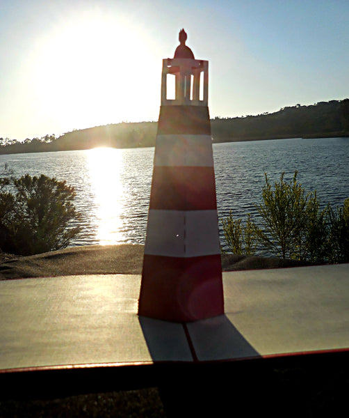 Light House 3D Pop Up Greeting Card 2