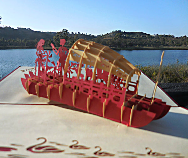 Love Boat 3D Pop Up Greeting Card 2