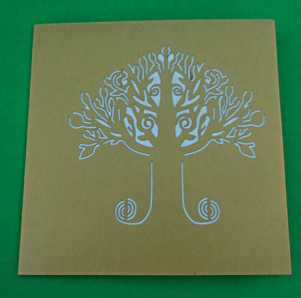 Money Tree 3D Pop Up Greeting Card 3