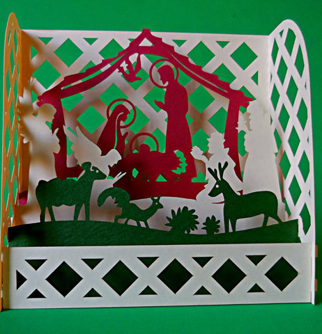 Nativity 3D Pop Up Centerpiece 1