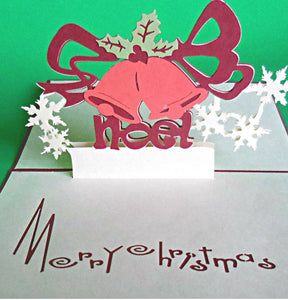 Noel 3D Pop Up Greeting Card 1