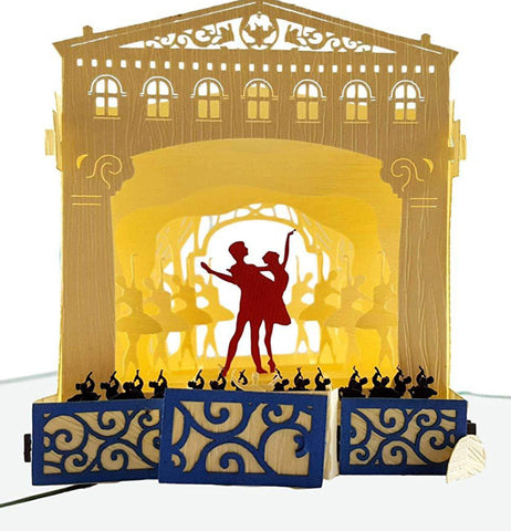 Nutcracker 3D Pop Up Greeting Card 1