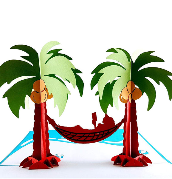 Paradise 3D Pop Up Greeting Card 1