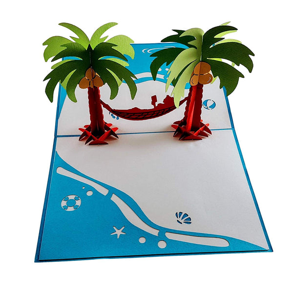 Paradise 3D Pop Up Greeting Card 2