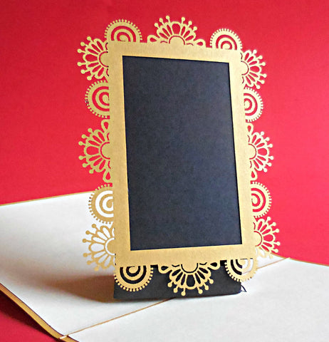 Picture Frame 3D Pop Up Greeting Card 1