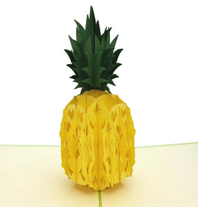 Pineapple 3D Pop Up Greeting Card 1