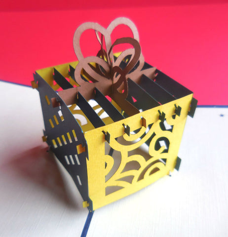 Present 3D Pop Up Greeting Card 1
