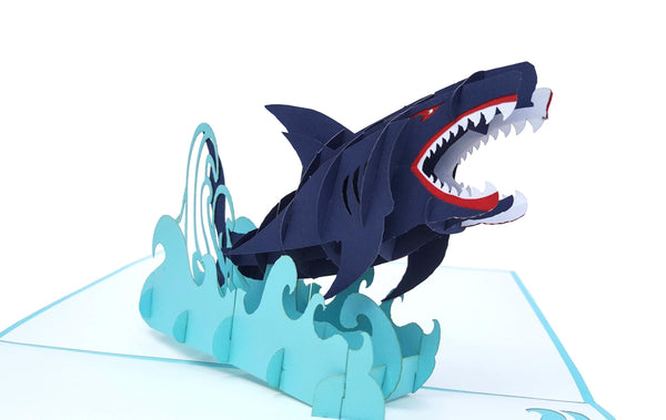 Shark 3D Pop Up Greeting Card 2