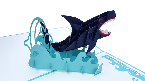 Shark 3D Pop Up Greeting Card 4