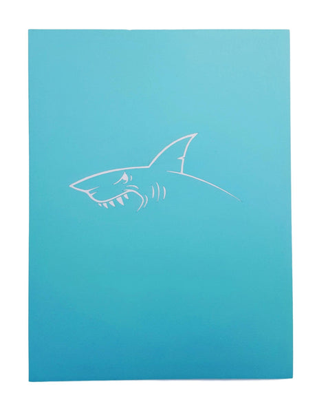 Shark 3D Pop Up Greeting Card 7
