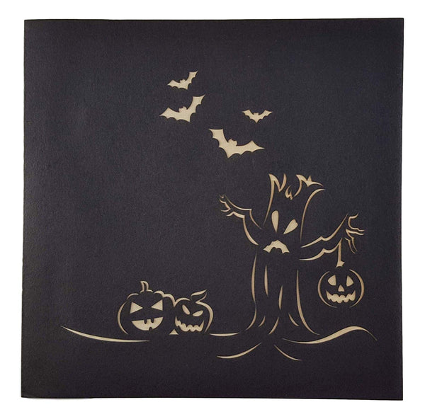 Spooky Tree and Jack-O-Lantern 3D Pop Up Greeting Card 7