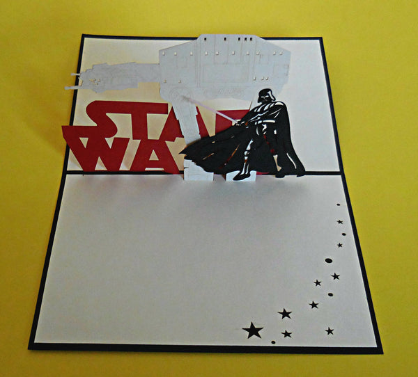 Star Wars I 3D Pop Up Greeting Card 3