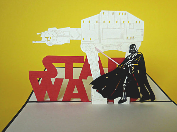 Star Wars I 3D Pop Up Greeting Card 2