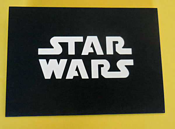 Star Wars I 3D Pop Up Greeting Card 4