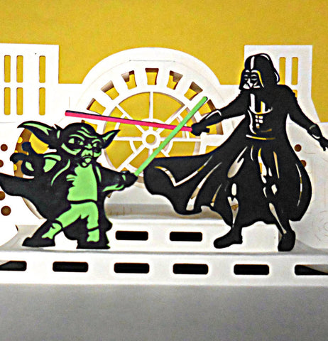 Star Wars II 3D Pop Up Greeting Card 1