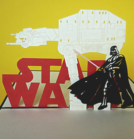 Star Wars I 3D Pop Up Greeting Card 1