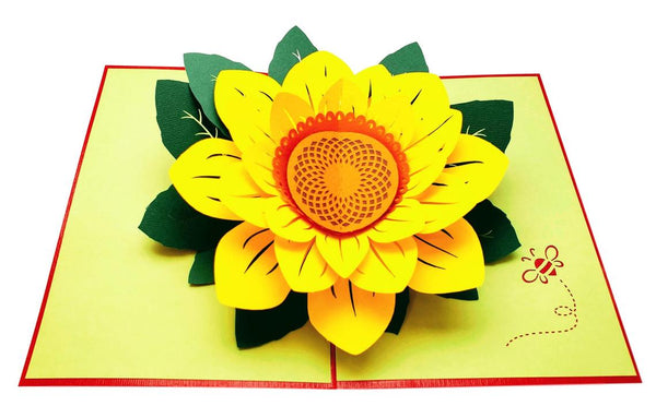Sunflowers Happy Mother's Day 3D Pop Up Greeting Card 3