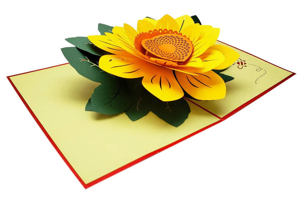 Sunflowers Happy Mother's Day 3D Pop Up Greeting Card 4
