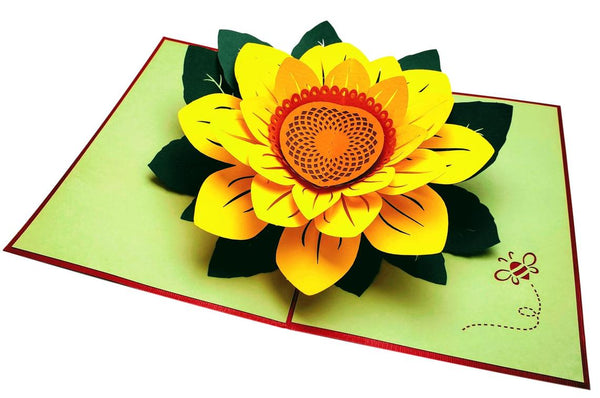 Sunflowers Happy Mother's Day 3D Pop Up Greeting Card 5